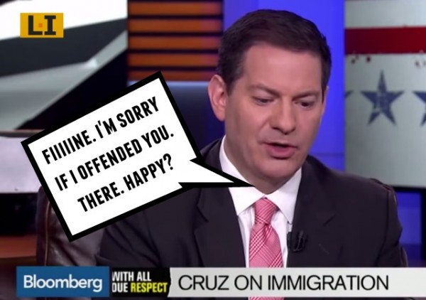 Bloomberg news politics mark halperin apologizes ted cruz racist interview