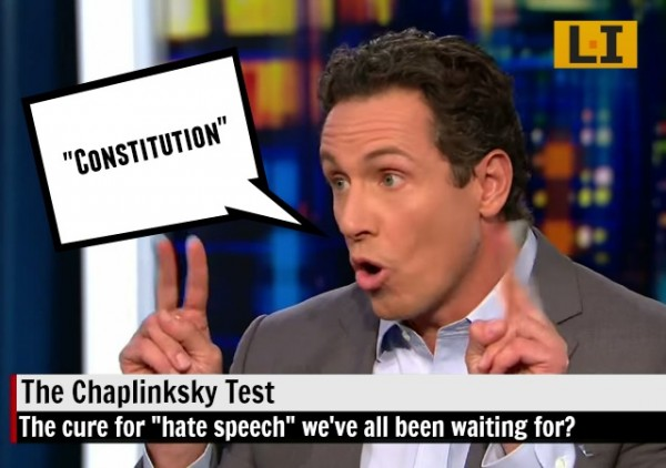 CNN Chris Cuomo Chaplinsky vs New Hampshire Pamela Geller Garland Shooting media bias