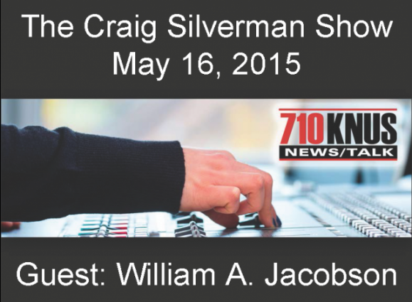 Craig Silverman Show - William A. Jacobson