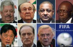 FIFA corrupt officials