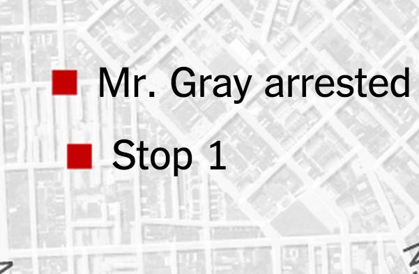 Freddie Gray stop 1