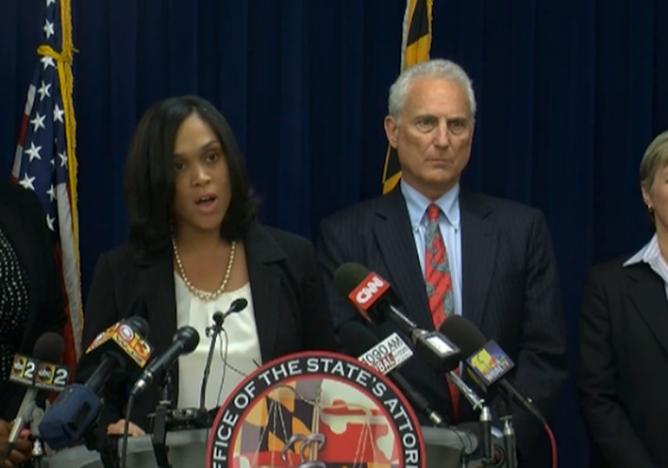 Freddy Gray Prosecutor Mosby reads Grand Jury charges