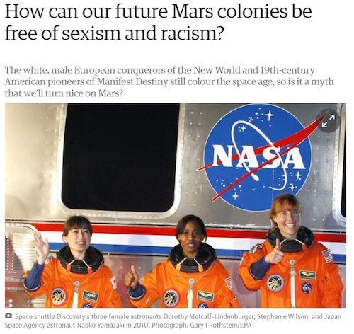 Guardian Discrimination Mars