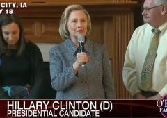 Hillary Clinton Iowa