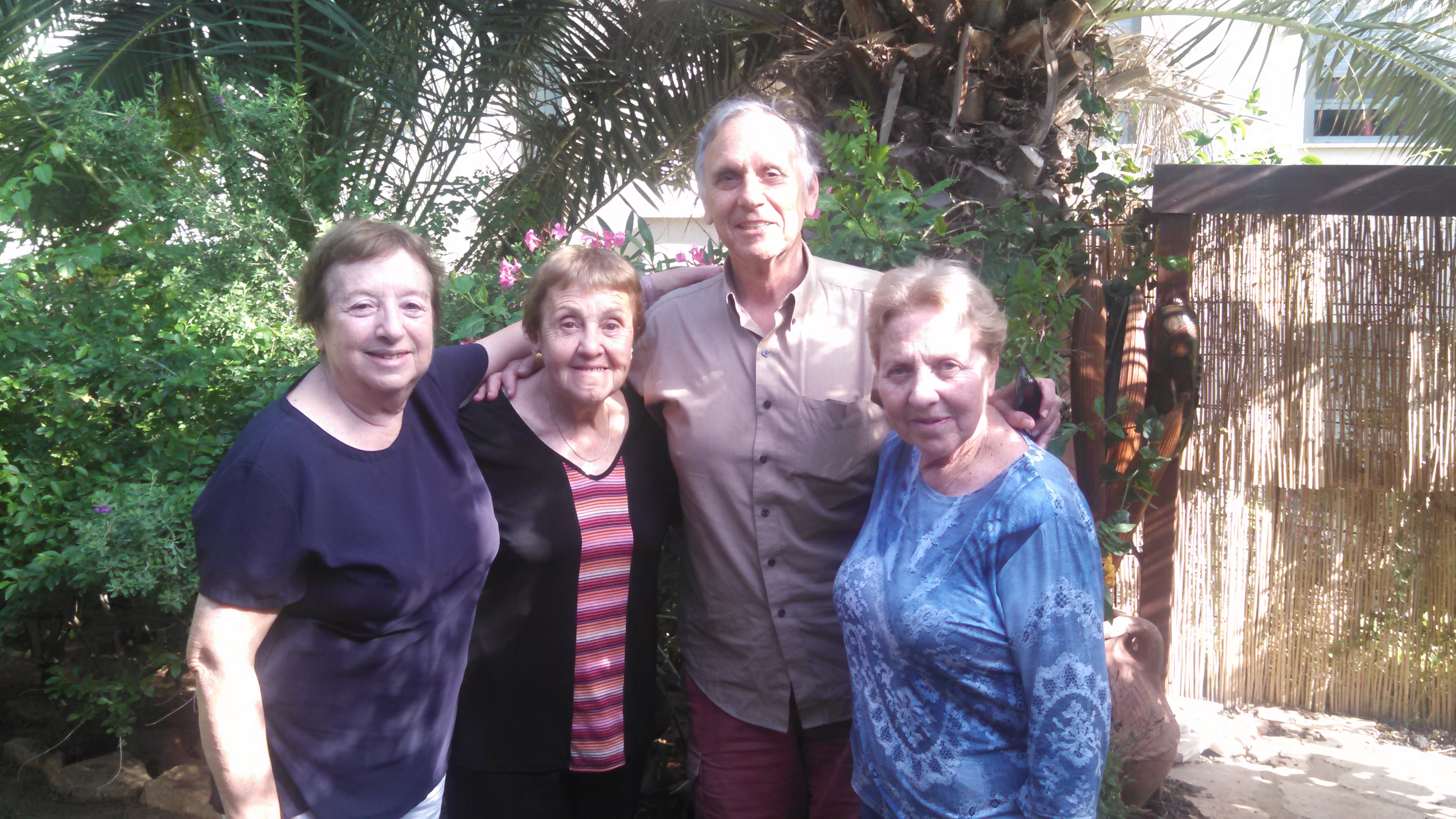 [Sisters of Leon Kanner, brother of Edward Joffe[[Photo by William Jacobson, May 2015, Israel]