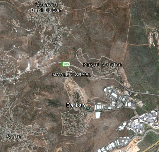 [Barkan and nearby villages]