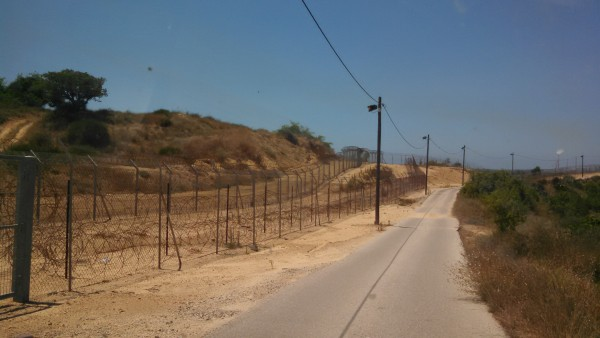 Kibbutz fencing near Gaza border