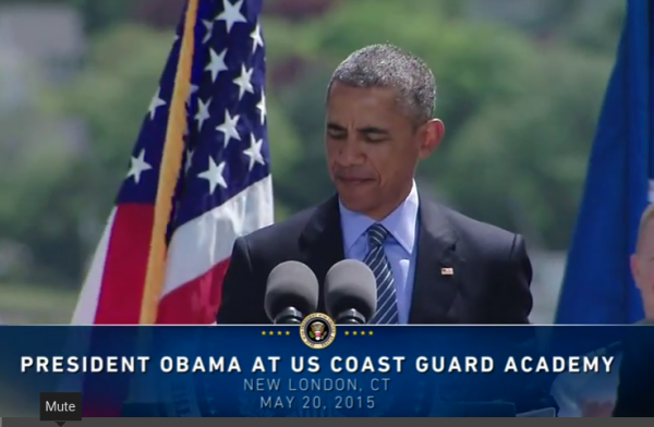 LI #07 President Obama at Coast Guard