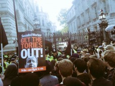London Protests Get Tories Out