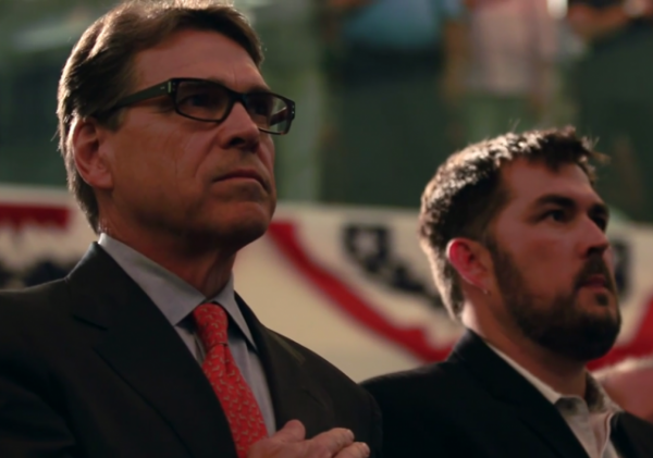 Marcus Luttrell Rick Perry 2016 President Lone Survivor