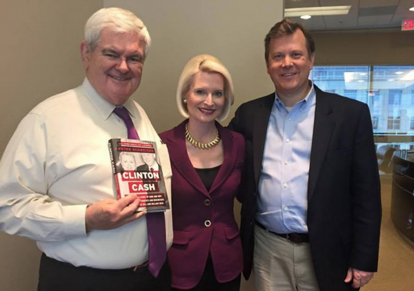 Newt Gingrich Peter Schweizer Clinton Cash Facebook Q&A Digital Media