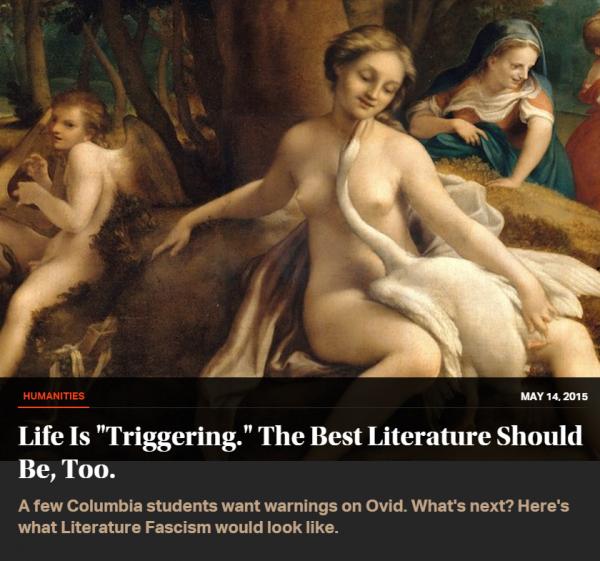 Ovid Life is Triggering New Republic