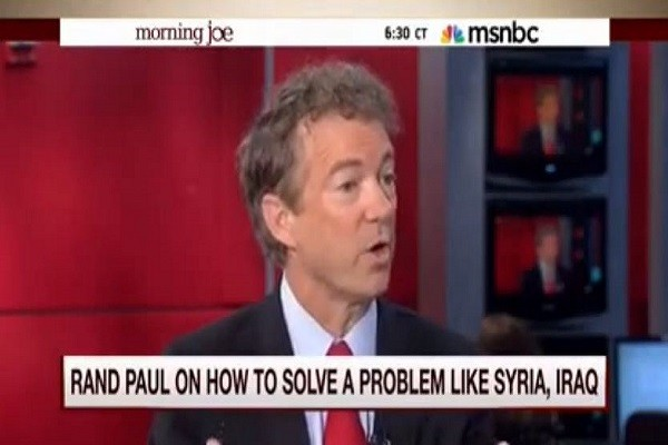 Rand Paul GOP hawks created ISIS