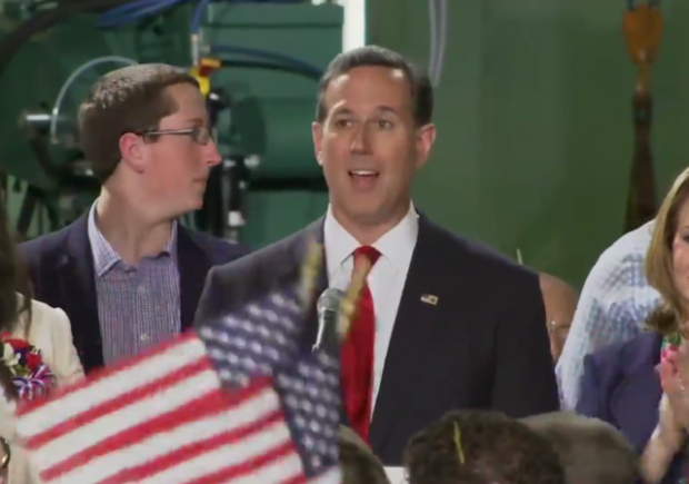 Rick Santorum runs for president second time 2016 pennsylvania senator
