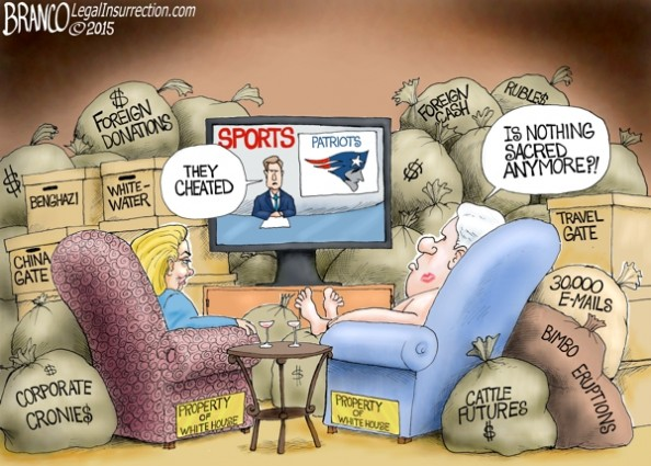 Patriots And Clinton's