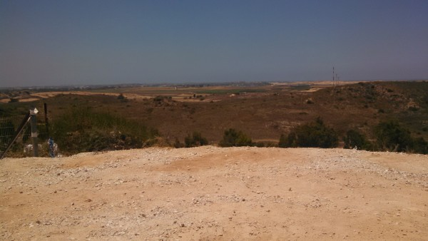 Sderot View from Hill to Gaza