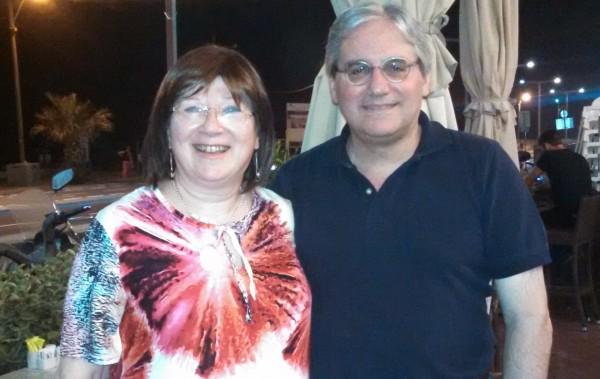 William Jacobson and Anne in Petah Tikva
