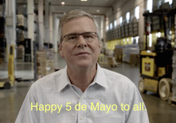 jeb bush cinco de mayo
