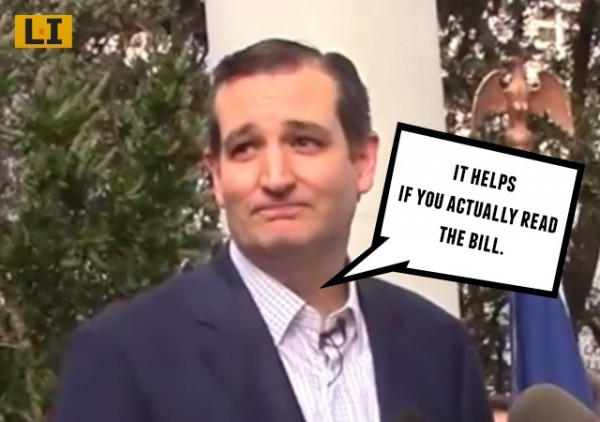ted cruz sandy relief federal aid for texas