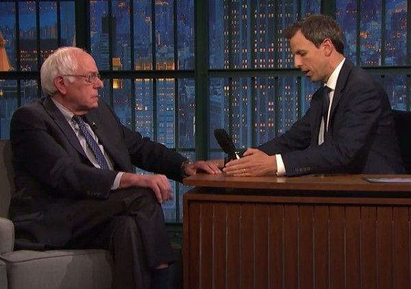 Bernie Sanders Seth Meyers