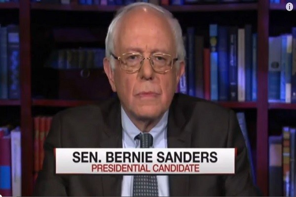 Bernie Sanders on gun control