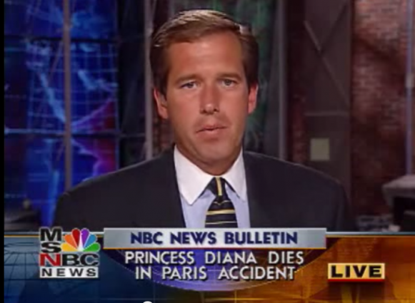 Brian Williams MSNBC Princess Diana