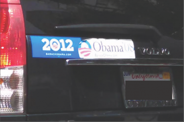 Bumper Sticker - Los Angeles - Obama Biden