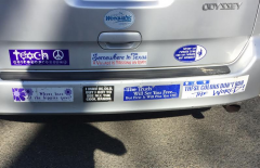 Bumper Sticker - Tenafly NJ - Teach