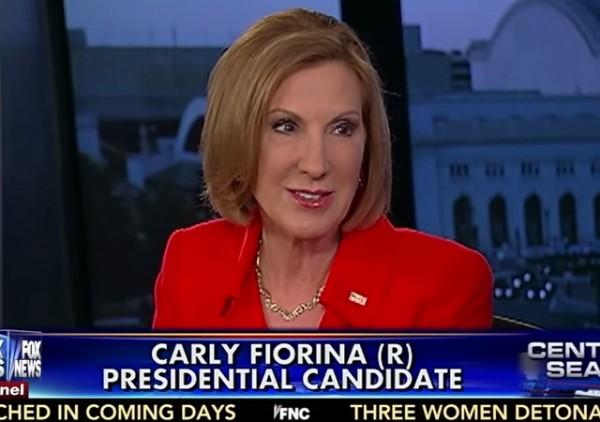 Carly Fiorina on FOX