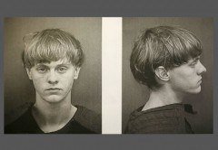 Dylann Storm Roof Mugshot Front and Side w border