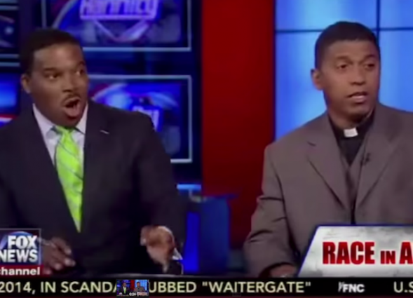 Eric Guster and Pastor Marcus Mosiah Jarvis on Sean Hannity 6:10:15