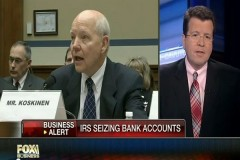 IRS seizing bank accounts