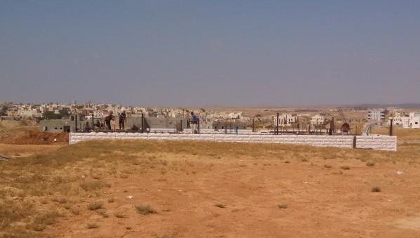 Negev Bedouin Rahat Construction