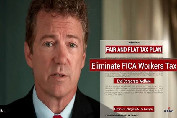 Rand Paul Fair and Flat Tax