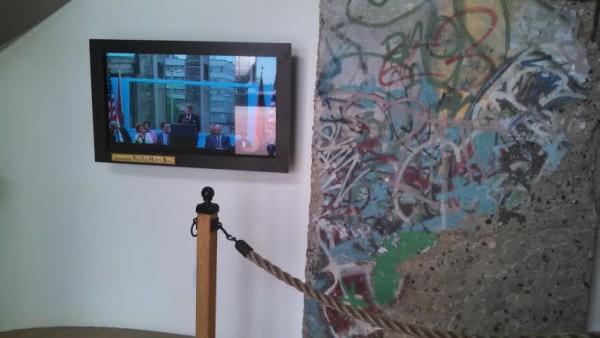 Reagan Center Berlin Wall Section