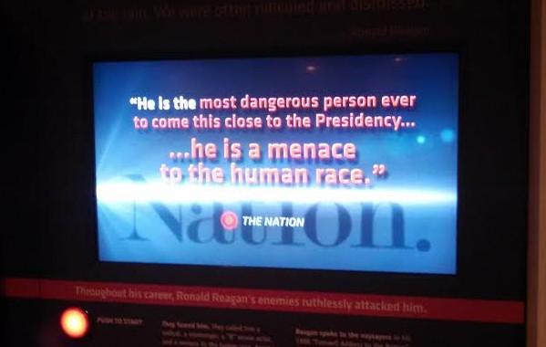 Reagan Center Video The Nation