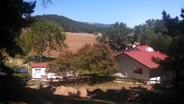 [Reagan Ranch - View from Behind House]