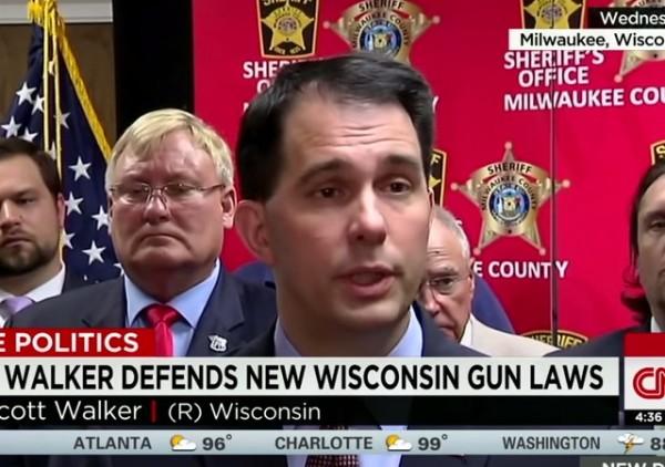 Scott Walker WI gun laws