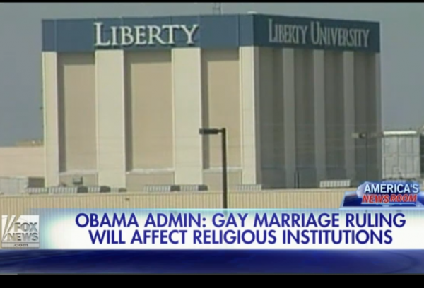 Supreme Court Gay Marriage Oral Argument Fox News Tax Exemption Liberty