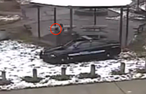 Tamir Rice reaches for gun in waistband