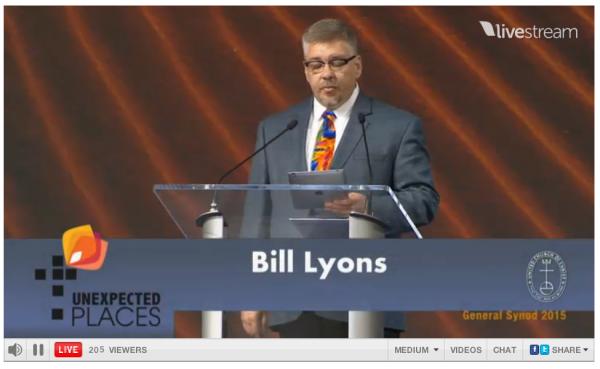 [United Church Christ Israel Apartheid Resolution Bill Lyons Apartheid]
