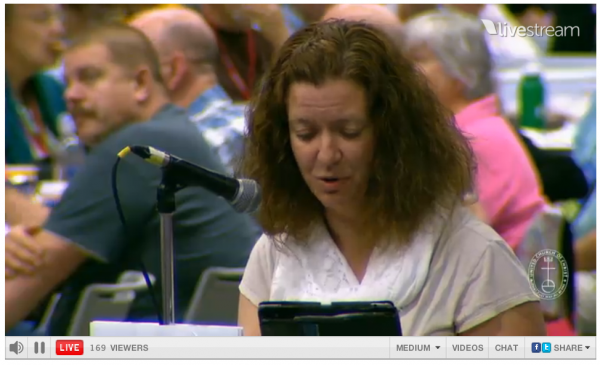 United Church Christ Israel Divestment Resolution Joanne Marquetto Need to hear both sides