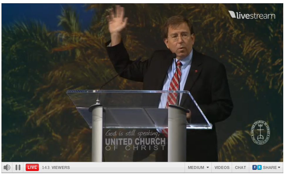 United Church Christ Israel Divestment Resolution Richard Edens Chair Committee 3