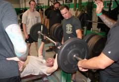 veteran rehab benchpress