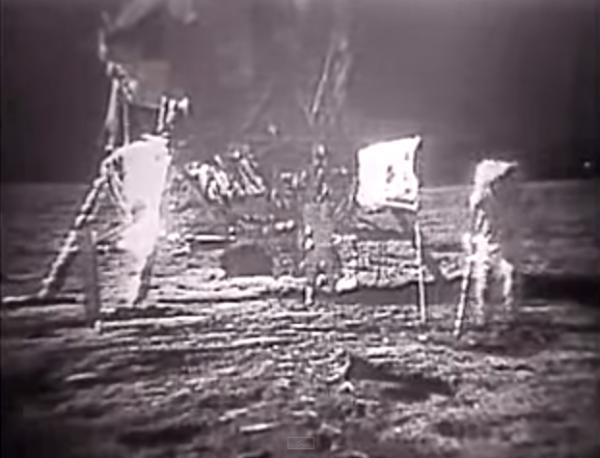 Apollo 11 Moon Landing and Walk