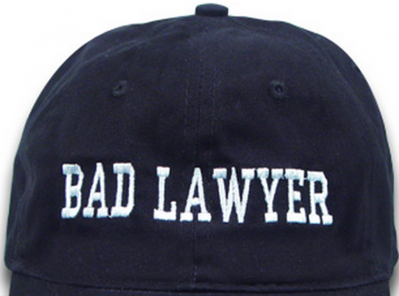 Bad Lawyer Cap