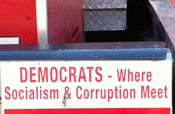 Bumper Sticker - Las Vegas - Democrats Socialism Corruption