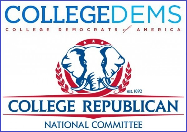 College Democrats and College Republicans