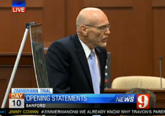 Don West Zimmerman Trial Opening Statement cropped