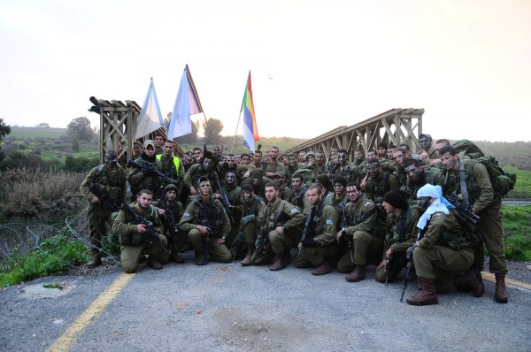 "The ""Herev"" (Sword) Battalion, comprised of Druse, Jewish, and Christian soldiers (credit: IDF)"